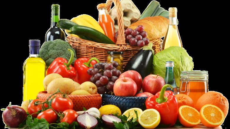 Lebensmittel mit Vitaminen